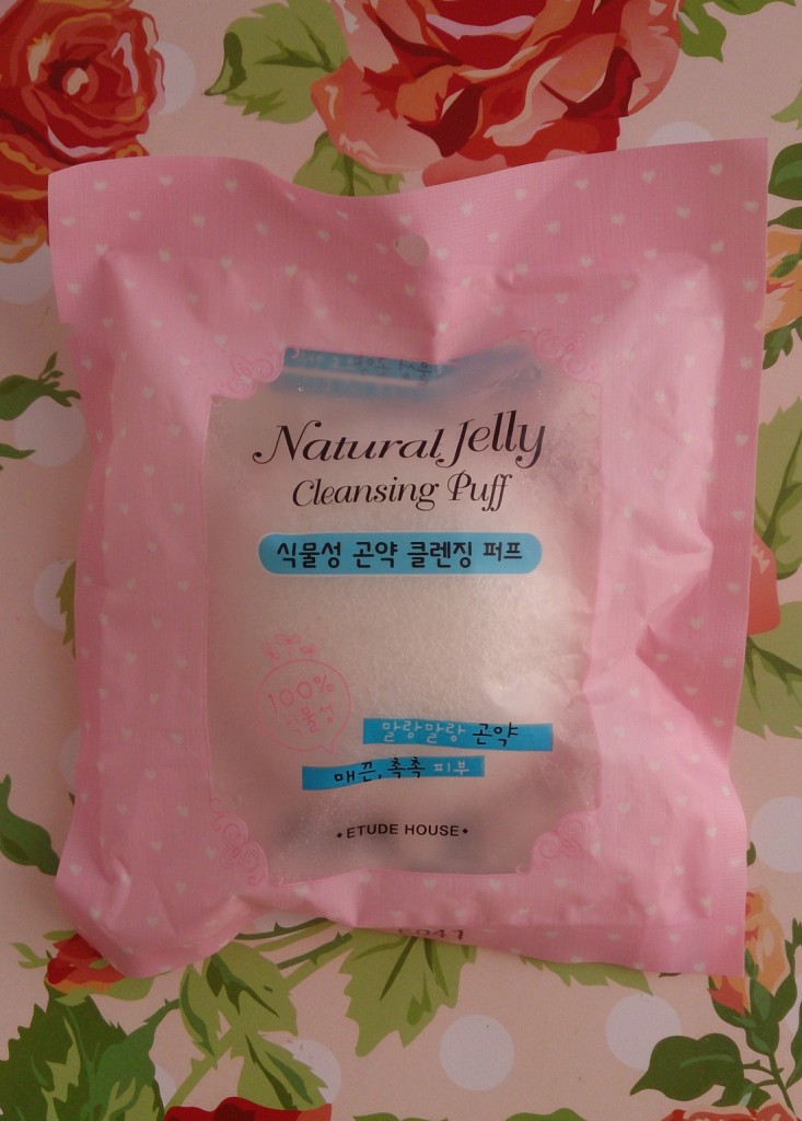 Natural Jelly Cleansing Puff Etude House