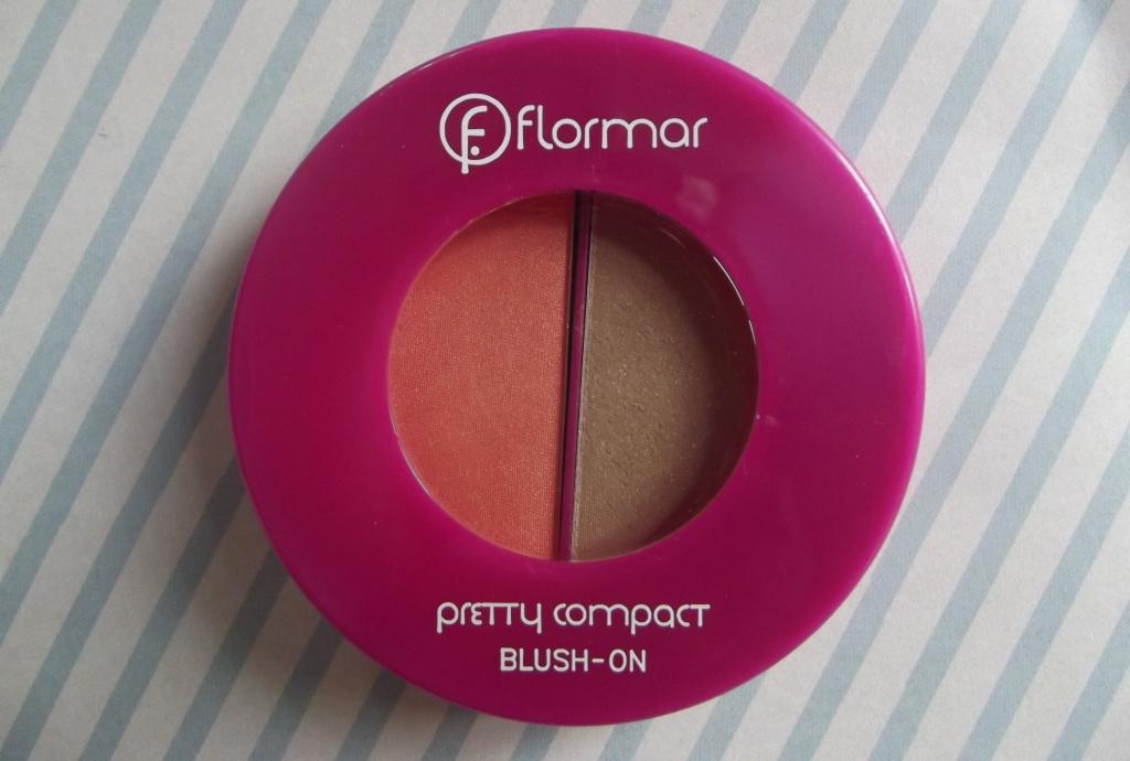 Flormar Pretty Compact Blush On Компактные Румяна Р115