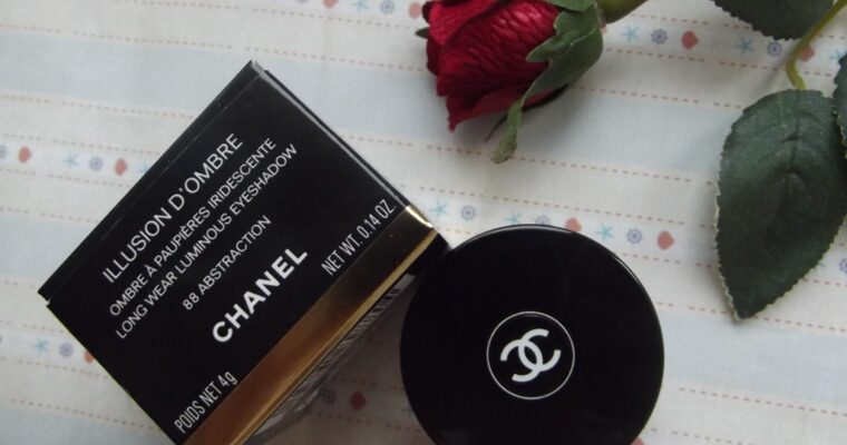 "Chanel Illusion D'ombre Long Wear Luminous Eyeshadow #88 ""Abstraction"" Кремовые тени"