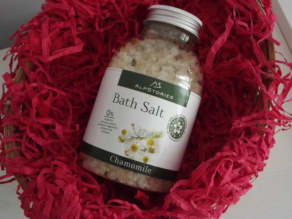 AlpStories Bath Salt Chamomile Соль для ванны с ромашкой