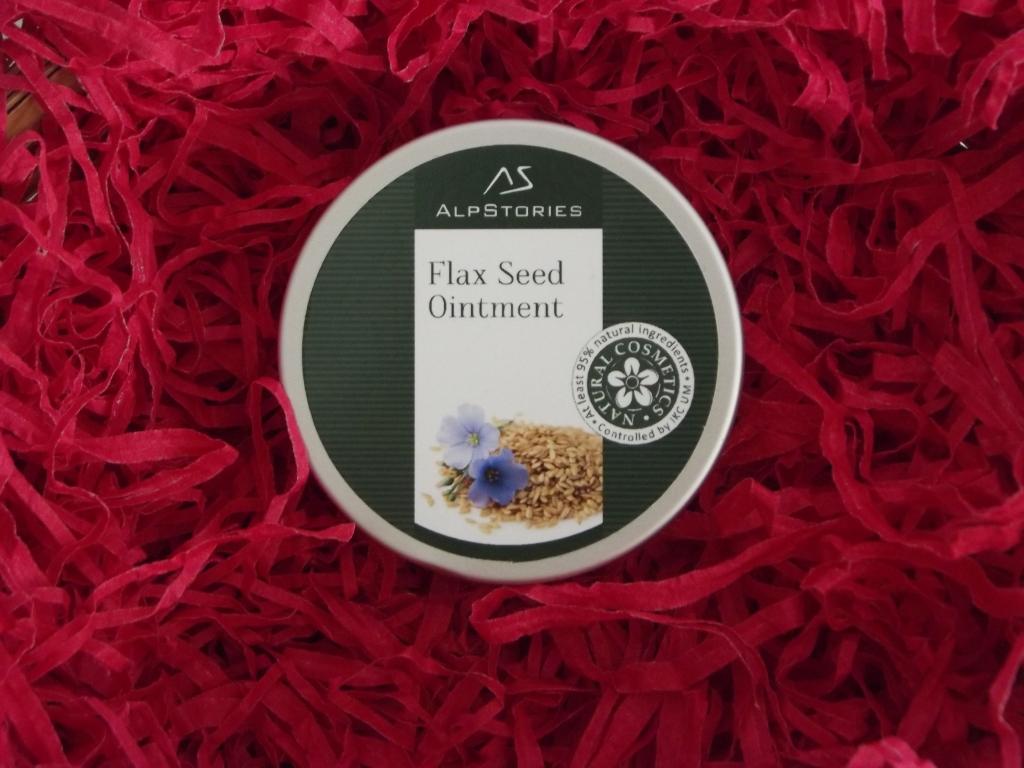 AlpStories Flax Seed Ointment Косметические средство с семенами льна