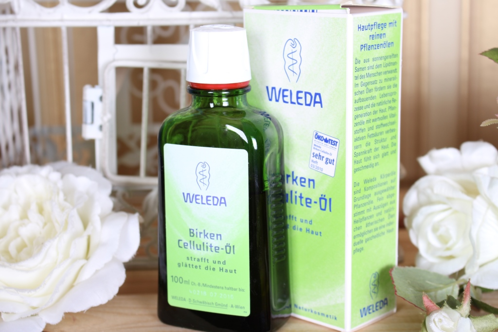 Weleda Birken Cellulite-Oil Антицеллюлитное березовое масло