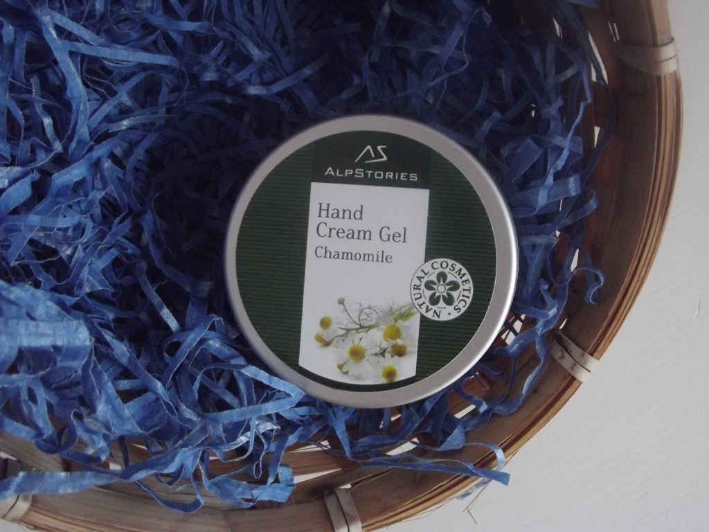 AlpStories Hand Cream Gel Chamomile Крем-гель для рук Ромашка