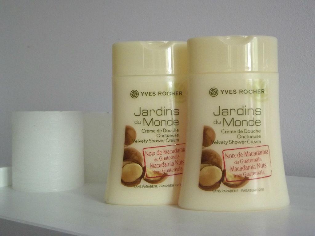 "Yves Rocher JARDINS DU MONDE Macadamia Nuts From Guatemala Крем-гель для душа ""Орех Макадамии"""