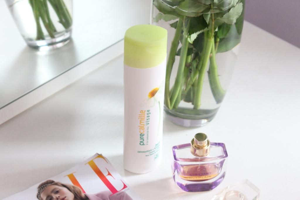 Yves Rocher Pure Calmille 2en1 Cleanser+Toner Молочко для снятия макияжа + Тоник