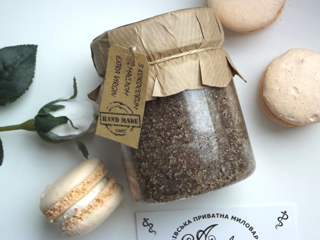 Ambra «Кава-Кокос» Сахарный скраб для тела