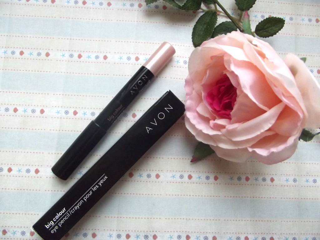 Avon Big Color Eye Pencil «Flipping Out Pink» Тени-карандаш для век