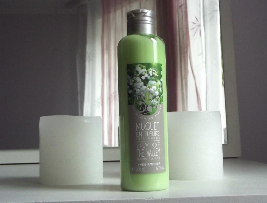 Yves Rocher Lily Of The Valley Body Lotion Молочко для тела «Цветущий ландыш»