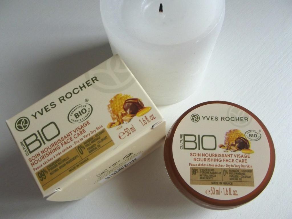 """Yves Rocher Culture BIO Nourishing Face Care Питательный уход для лица """"Мед и Мюсли БИО"""""""