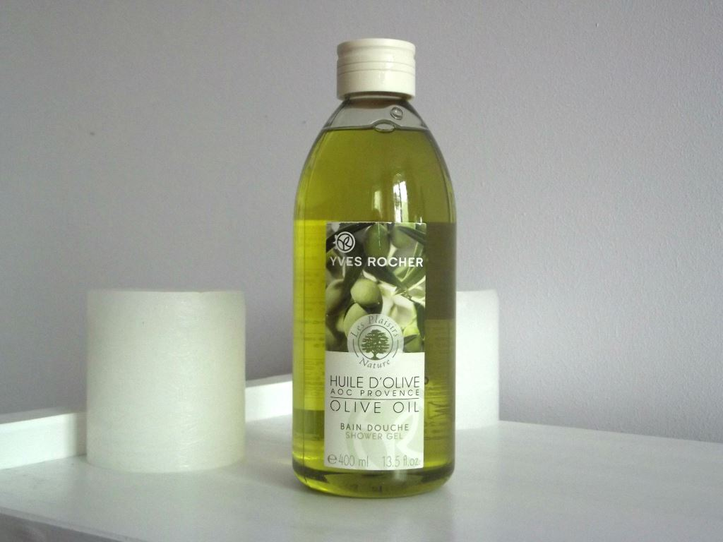 "Yves Rocher ""Les Plaisirs Nature"" Olive Oil Shower Gel Гель для ванны и душа ""Оливковое масло"""