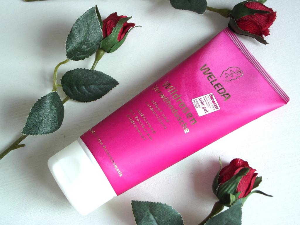 Weleda Wildrosen Розовый увлажняющий гель для душа