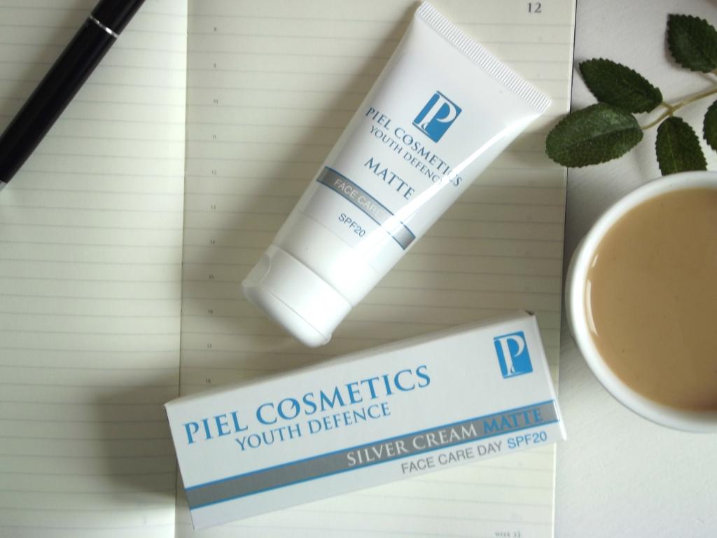 """Piel Cosmetics Youth Defence Silver Cream Matte Face Care Day SPF 20 Дневной крем для лица """"Защита молодости"""" с матирующим эффектом"""