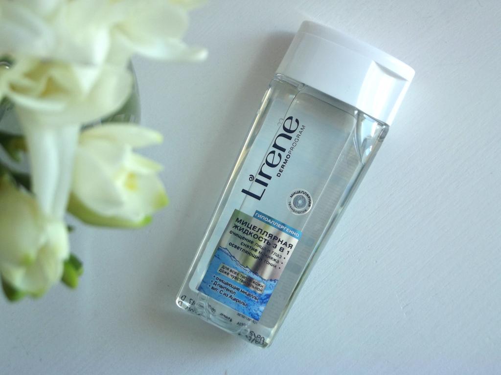 Lirene Мицеллярная жидкость 3 в 1
