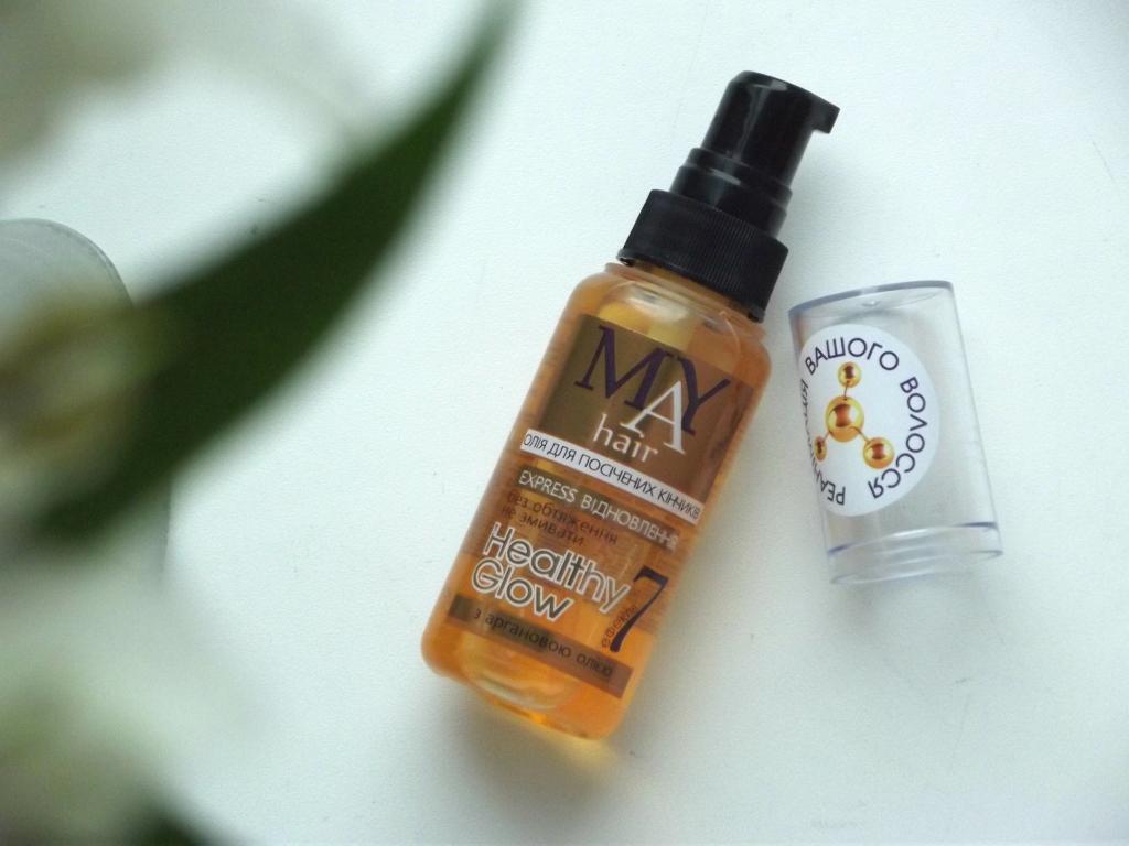 MAY Hair «Express Восстановление» Healthy Glow Масло для волос