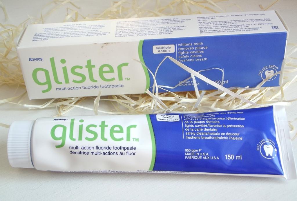 Amway Glister Multi-action Fluoride Toothpaste Многофункциональная фтористая зубная паста
