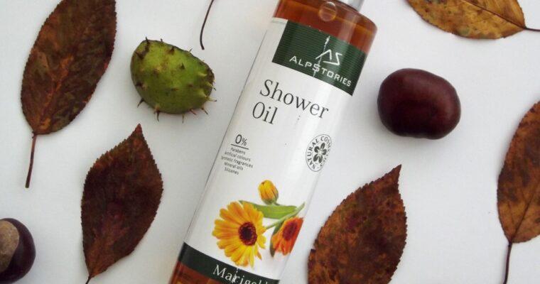 """AlpStories Shower Oil Marigold Масло для душа """"Календула"""""""