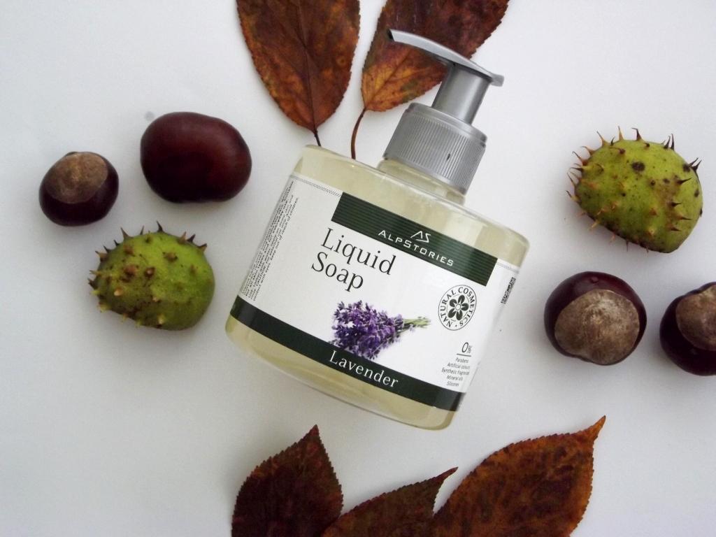 AlpStories liquid Soap Lavender Жидкое мыло «Лаванда»