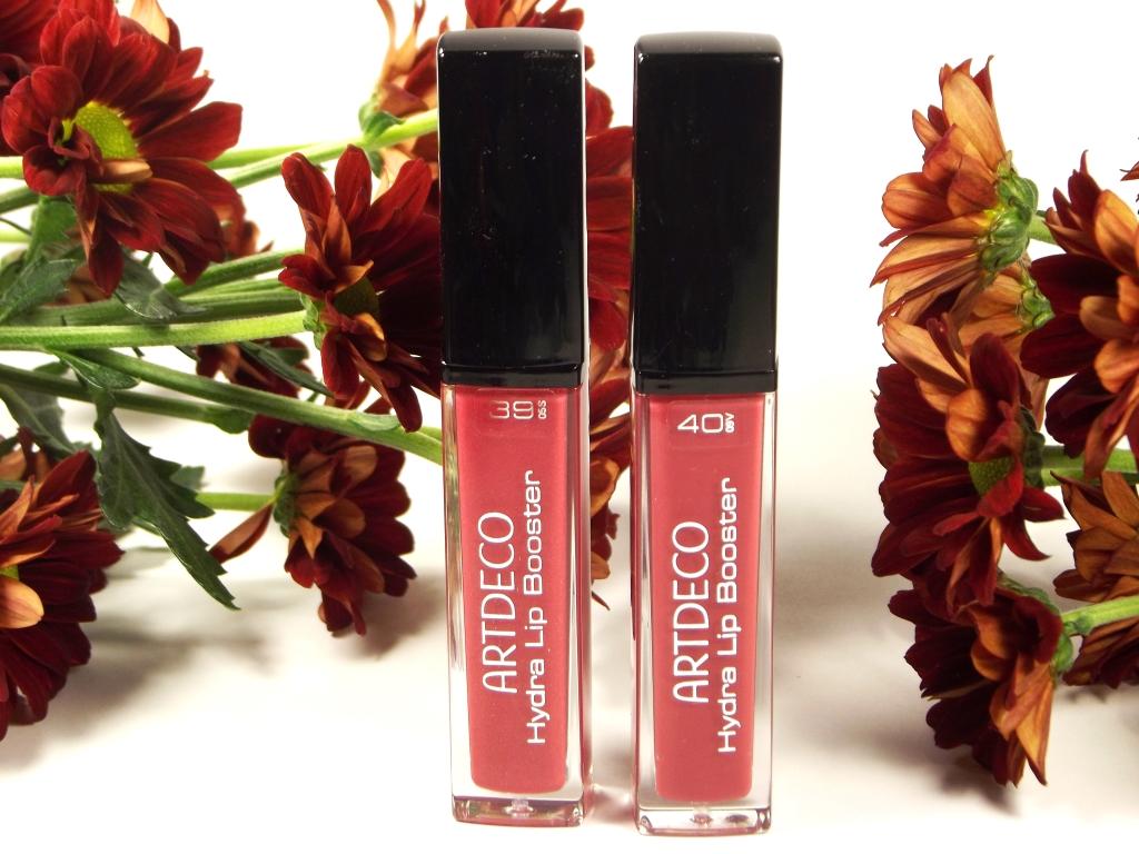 "Artdeco Hydra Lip Booster Увлажняющий блеск для губ ""39 Wood Rose"" и ""40 Cryptal Bud"""
