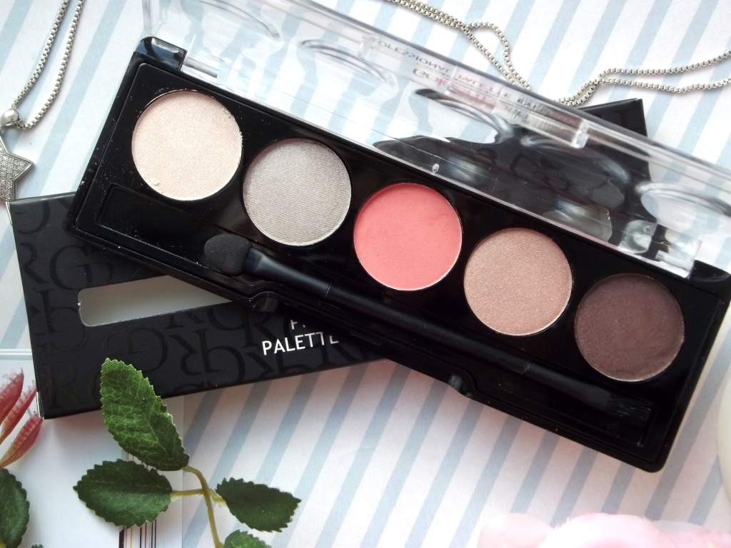 "Golden Rose Professional Palette Eyeshadow ""Nude Pink 106"" Палетка теней"
