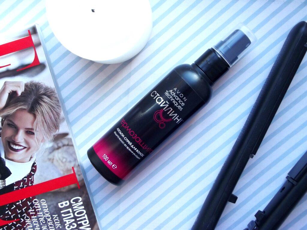 Avon Advance Techniques Лосьон-спрей для волос Термозащита