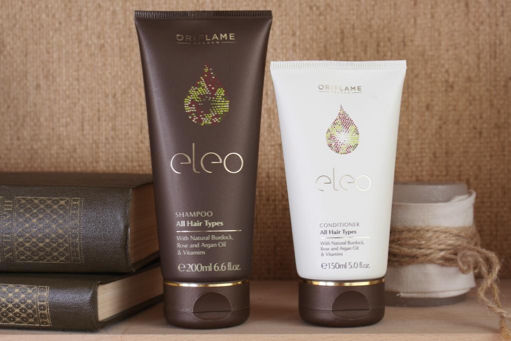 "Oriflame ""Eleo"" Shampoo & Conditioner Шампунь и кондиционер для волос"