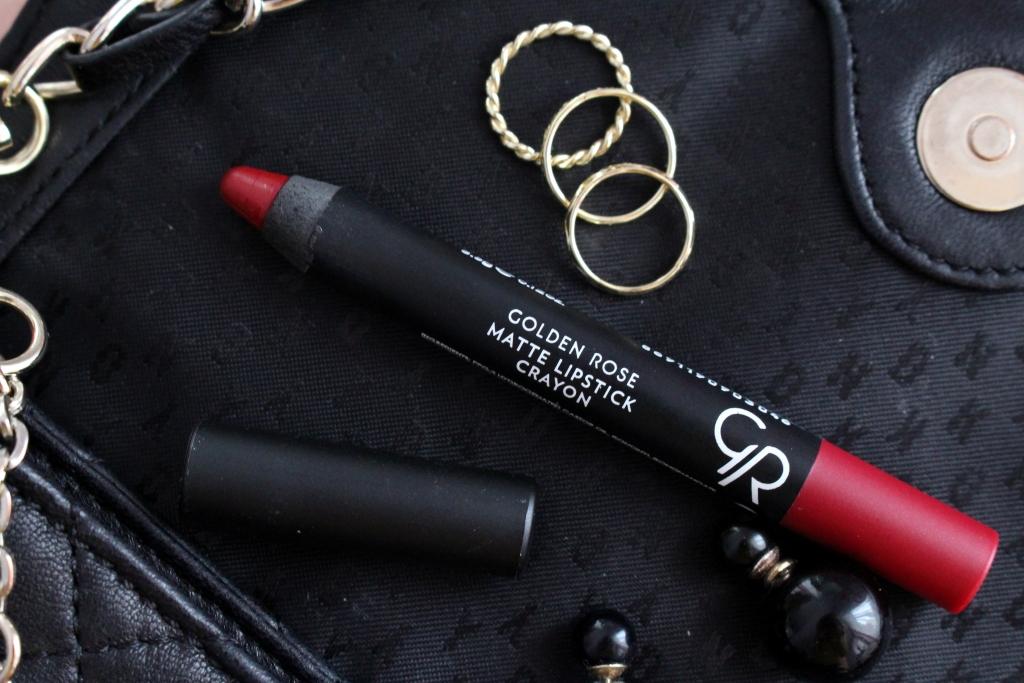 Golden Rose Matte Lipstick Crayon Матовая помада-карандаш