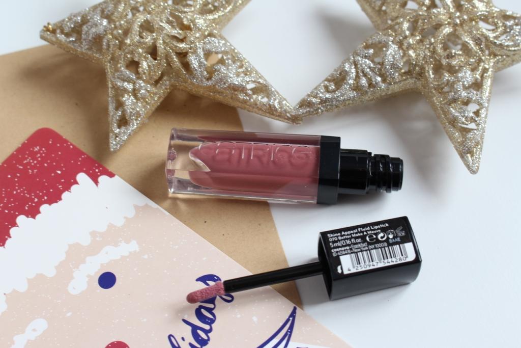 Catrice Shine Appeal Fluid Lipstick 070 Better Make A Mauve Флюид для губ