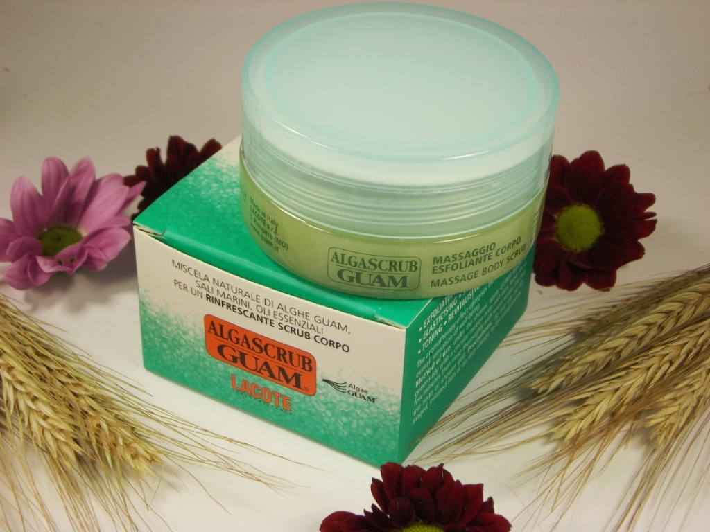 Косметика в пробниках и миниатюрах: Guam Alga scrub Massage Body Scrub Скраб для тела