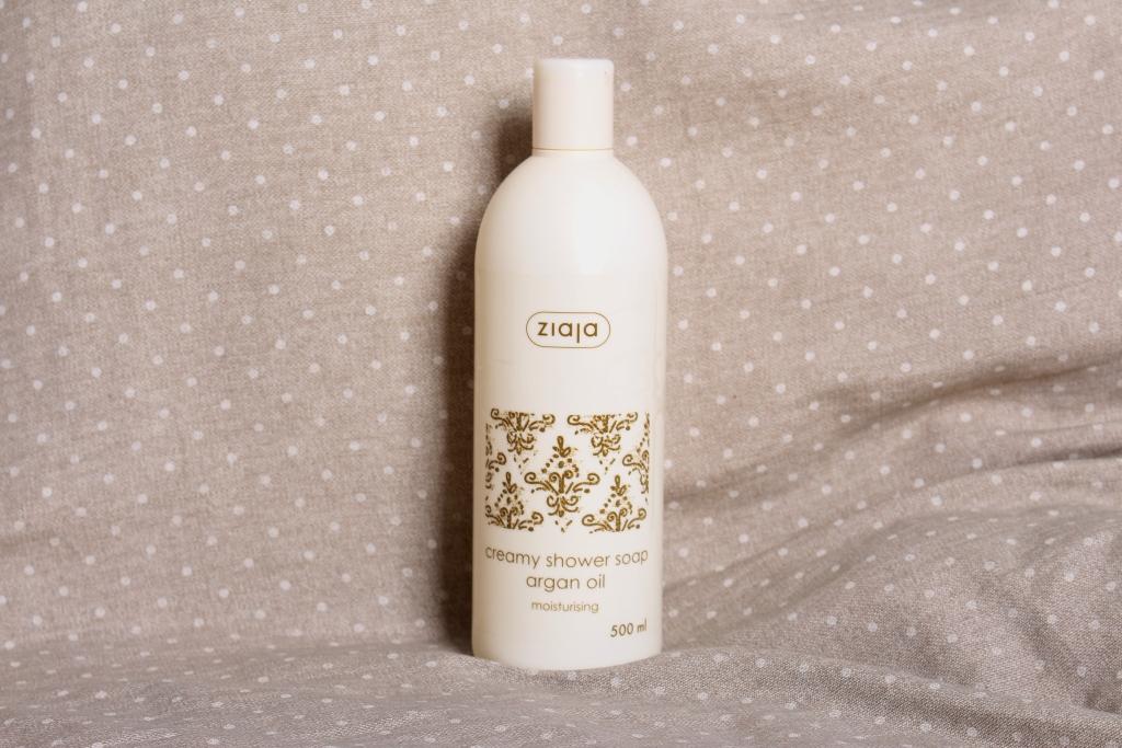 """Ziaja Creamy Shower Soap Argan Oil Moisturising Крем-мыло для душа """"Аргановое масло"""""""