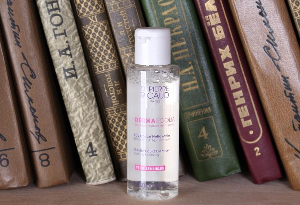 Dr. Pierre Ricaud Derma Ecolia Gentle Liquid Cleanser Fresh&Soothing Нежный очищающий лосьон для чувствительной кожи контура глаз
