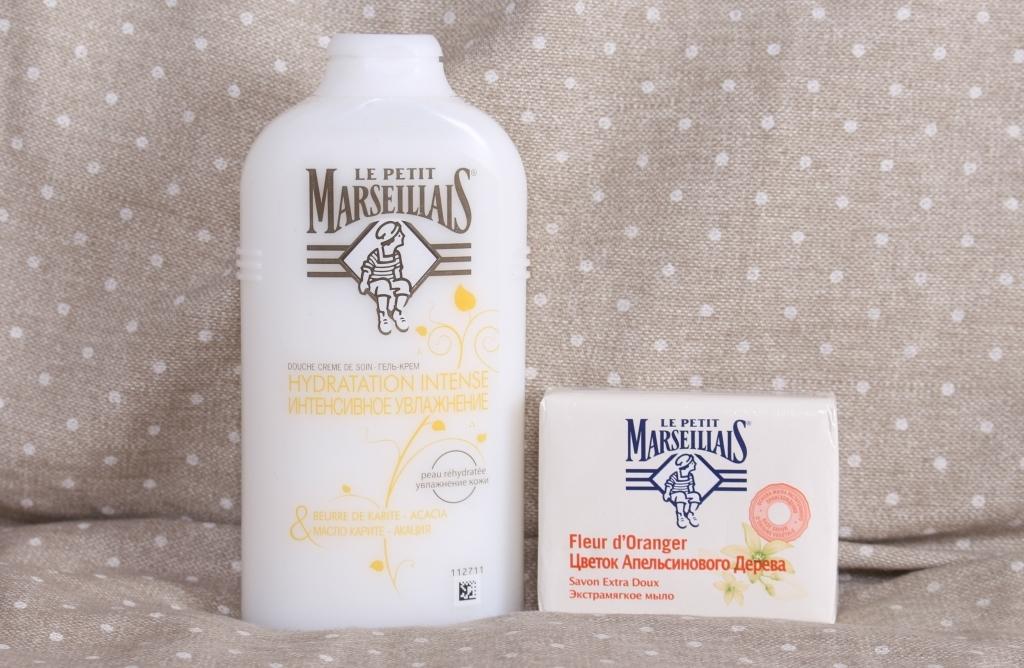 Le Petit Marseillais Гель крем для душа и Экстрамягкое мыло