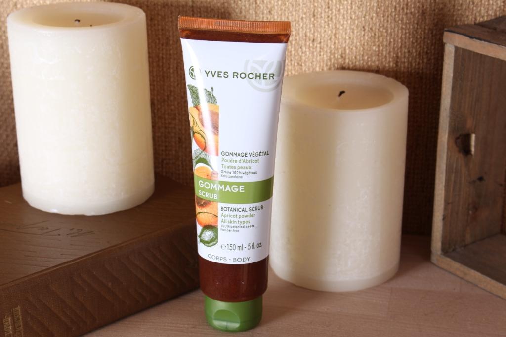 Yves Rocher Botanical Scrub Apricot Powder Растительный Гоммаж