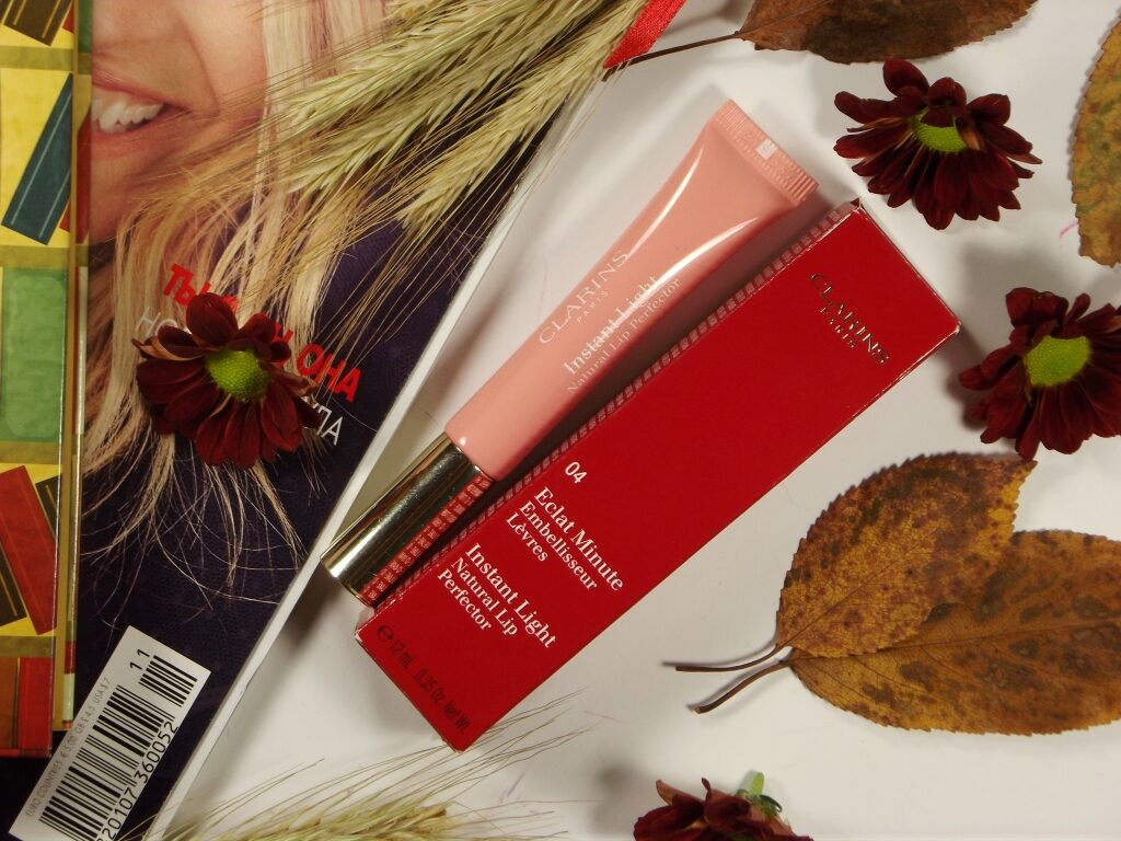 Clarins Eclat Minute Instant Light Natural Lip Perfector 04 Блеск для губ