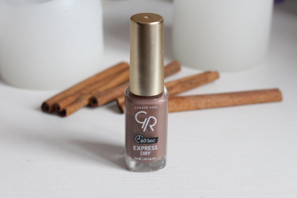 """Golden Rose """"60 sec"""" Express Dry Nail Lacquer """"85"""" Быстросохнущий лак для ногтей"""