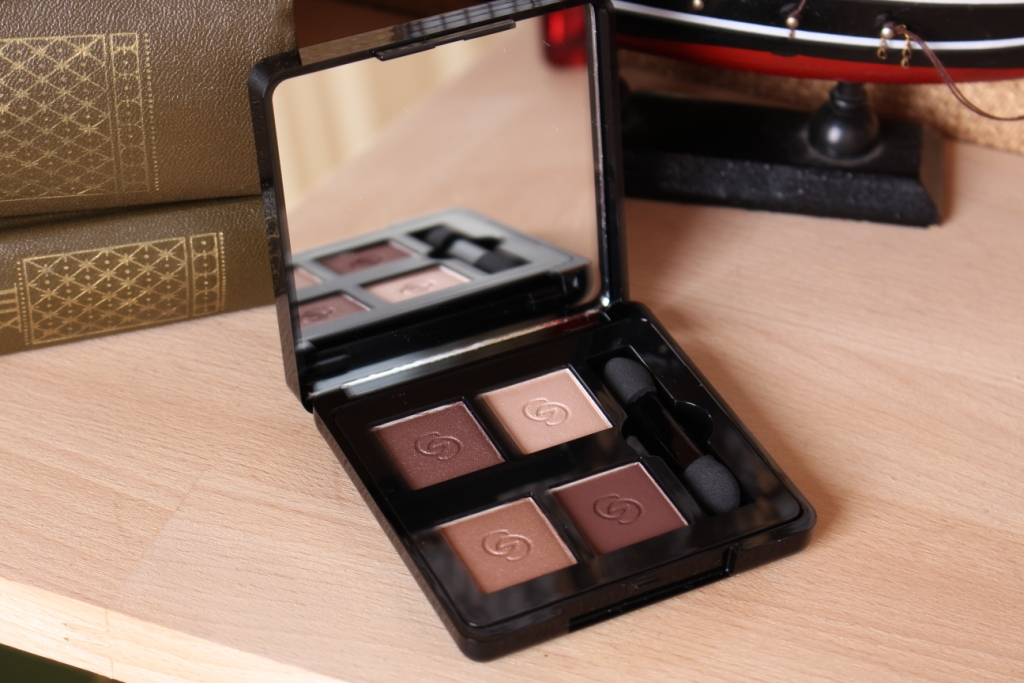 Oriflame Giordani Gold Eyeshadow Quad Divine Brown_2