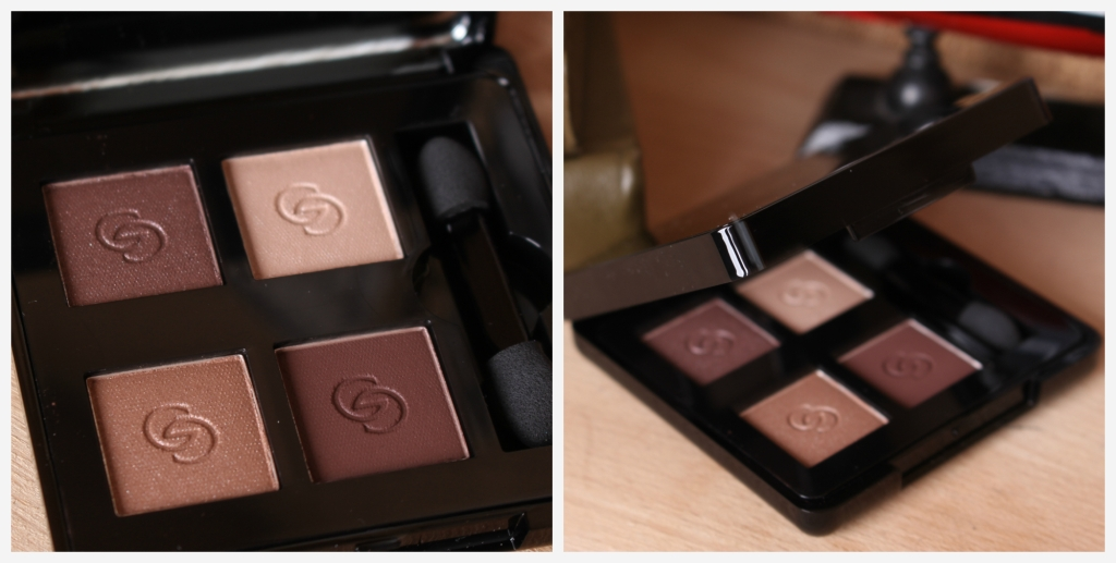 Oriflame Giordani Gold Eyeshadow Quad Divine Brown_4