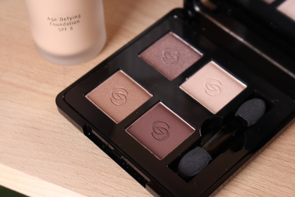 Oriflame Giordani Gold Eyeshadow Quad Divine Brown_5