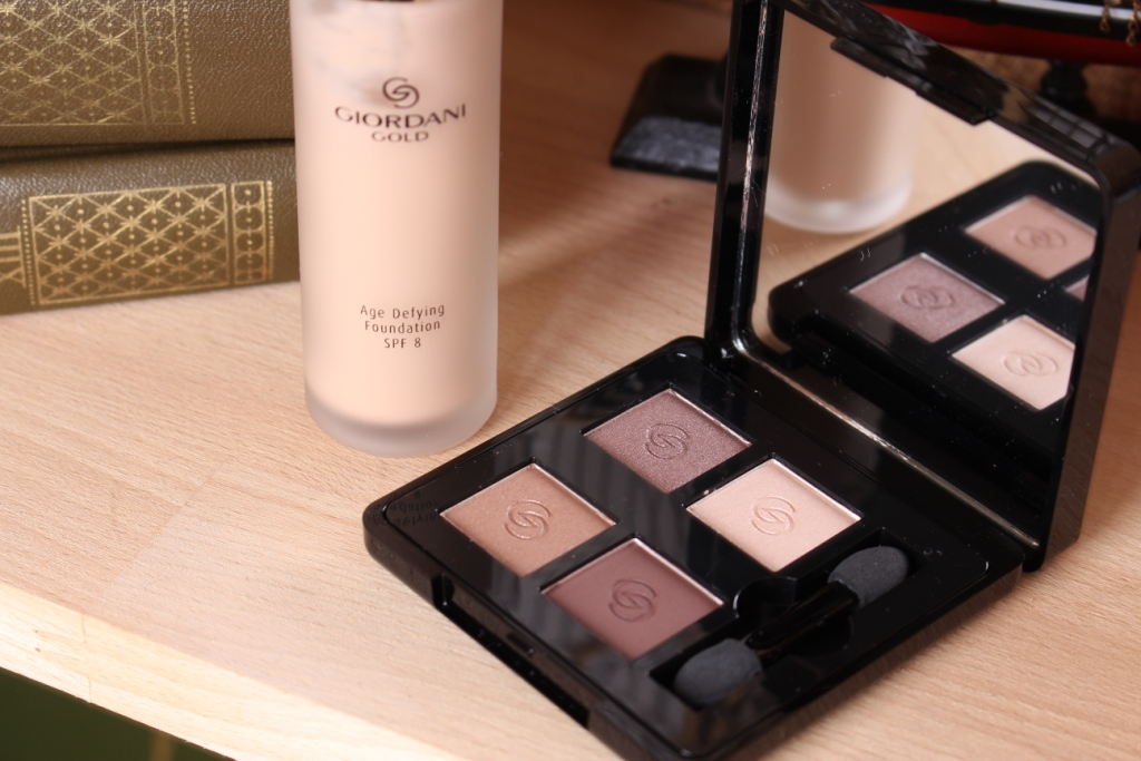 Oriflame Giordani Gold Eyeshadow Quad Divine Brown_9