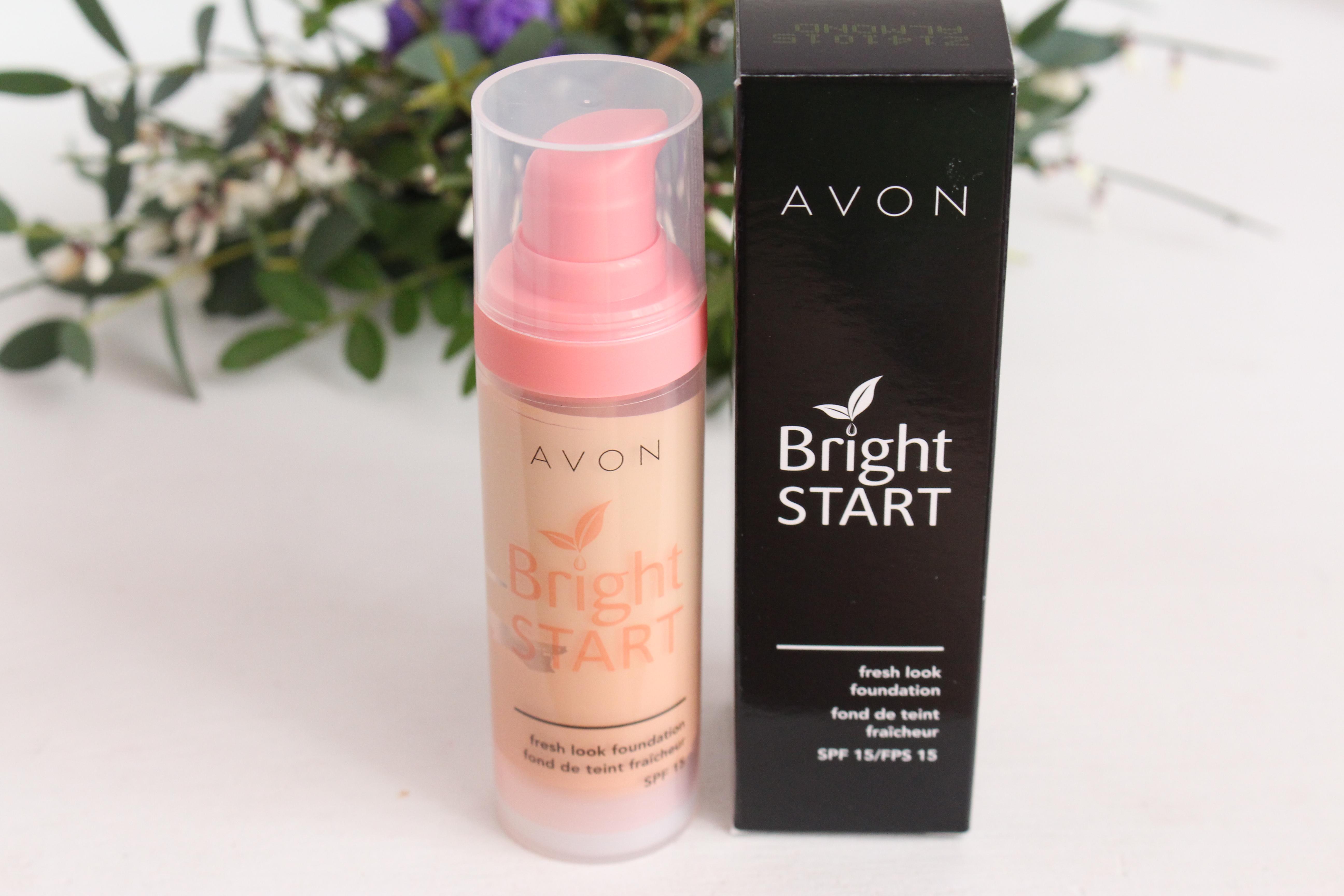 Avon Bright Start Fresh Look Foundation SPF 15 Тональное средство для лица «Заряд свежести»