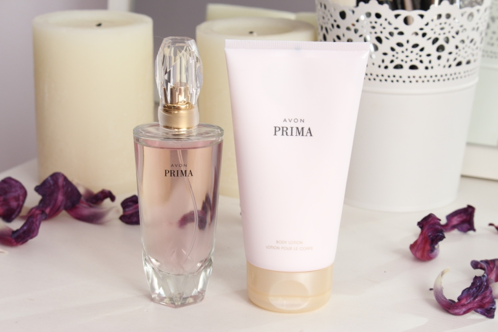 Avon Prima Eau De Parfum & Body Lotion Парфюмерная вода и Лосьон для тела
