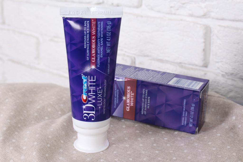 Crest 3D White Luxe Glamorous White Toothpaste Отбеливающая зубная паста