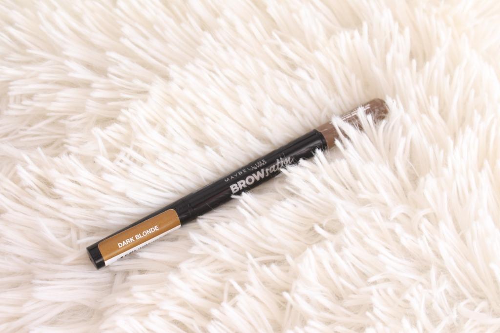 Maybelline Brow Satin Smoothing Duo-Brow Pencil&Filling Powder «Dark Blonde» Дуэт для бровей: Карандаш и пудра