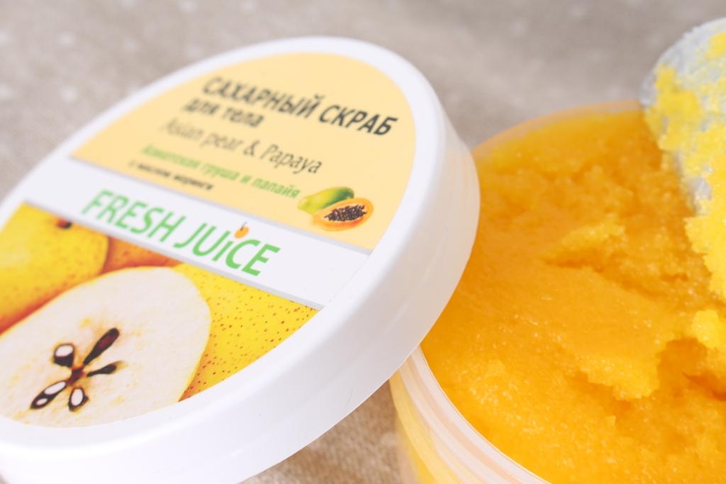 Fresh Juice Asian Pear & Papaya_3