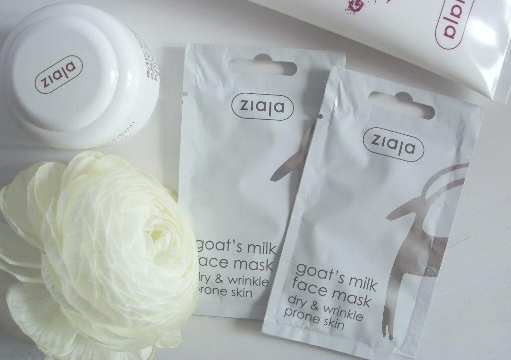 "Ziaja Goat's Milk Face Mask Маска для лица ""Козье молоко"""