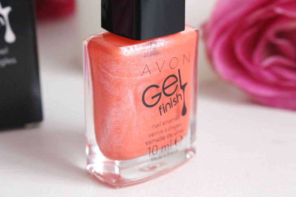 Avon Gel Finish Nail Enamel Coral Shimmer_3