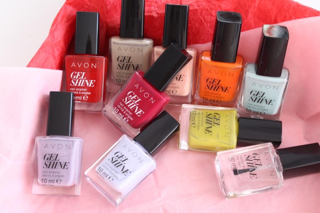 Avon Gel Shine Обновленная линейка лаков для ногтей