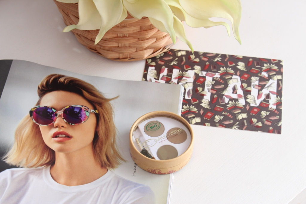 """Couleur Caramel Eyebrow Kit Набор для бровей """"Для блондинок"""""""