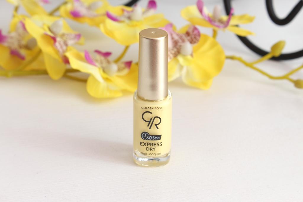 Golden Rose «60 sec» Express Dry Nail Lacuer «14» Быстросохнущий лак для ногтей