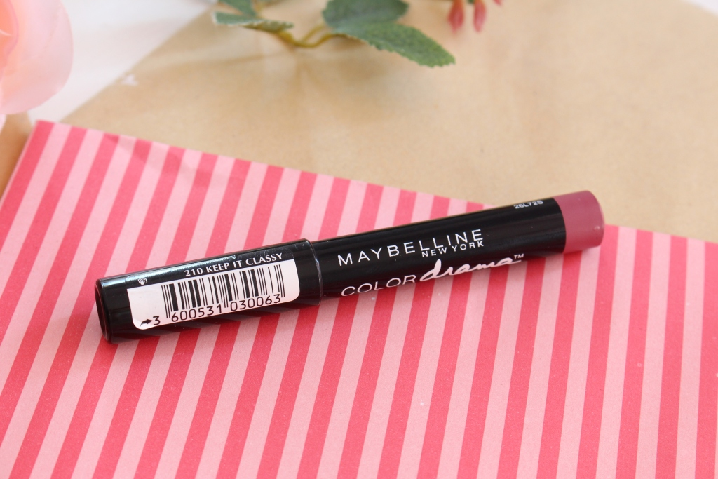"Maybelline Color Drama Intense Velvet Lip Pencil ""210 Keep It Classy"" Помада-карандаш"