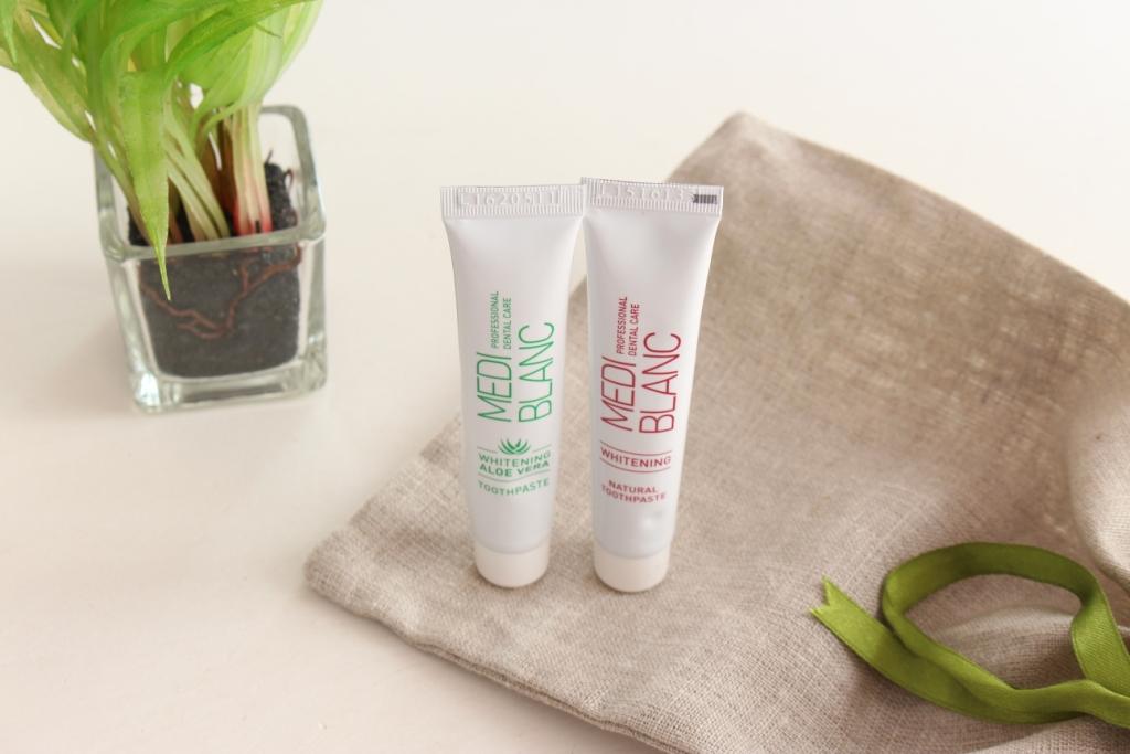 """MediBlanc Toothpaste """"Whitening"""" & """"Whitening Aloe Vera"""" Зубная паста"""